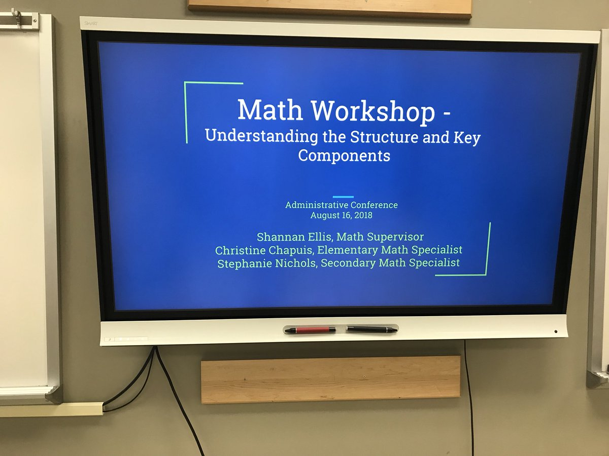 Sharing information about Math Workshop are Administrative Conference 2018! So exciting! <a target='_blank' href='https://t.co/P6bILuQX5j'>https://t.co/P6bILuQX5j</a>