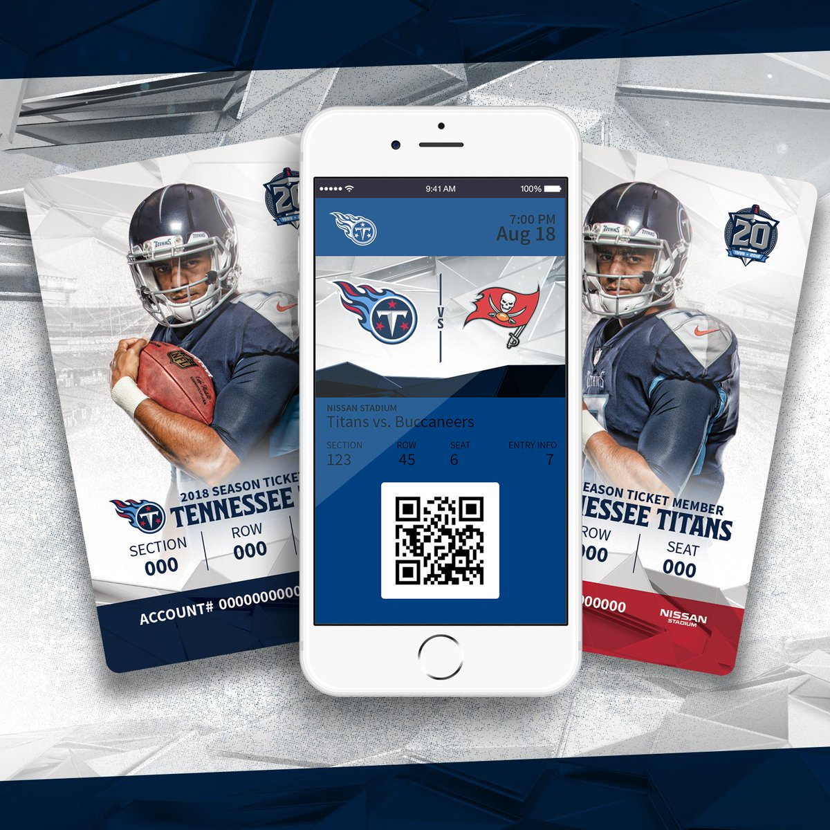 Tennessee Titans on Twitter: Your phone is your ticket into games