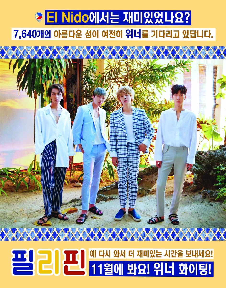 #WINNER_4TH_BIRTHDAY  To our favorite boys, a lot of PH ICs will be there to celebrate with you all on Sunday  and thousands more will welcome you back to the Philippines on Nov.  HAPPY 4TH ANNIVERSARY @official_yoon_ @official_hoony_ @official_mino_ @official_jinu_ <br>http://pic.twitter.com/Cr5aJw19rB