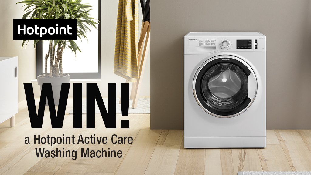 Enter our latest competition to #WIN a @HotpointUK Active Care Washing Machine! Simply follow us @HughesDirect &amp; RT  Ends 22/08/18, Ts&amp;Cs apply -  https://www. hughes.co.uk/competition-te rms-and-conditions &nbsp; … <br>http://pic.twitter.com/i7NttWW8ey