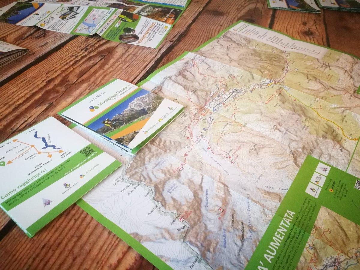 Nuova #cartina interattiva dedicata a #Macugnaga, percorsi a piedi o in #Mountainbike da vivere grazie ad un video per smartphone sulle attività #outdoor all\