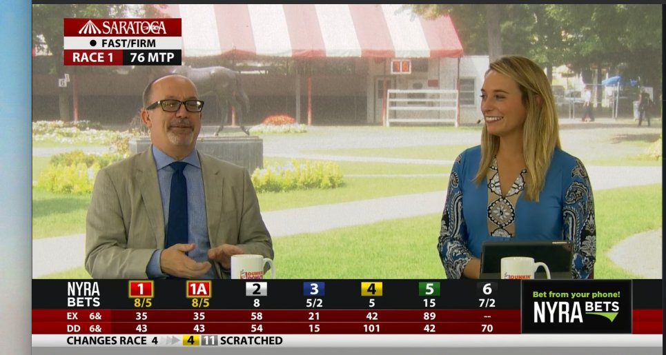 Talking Horses is LIVE with @Gabby_Gaudet_ and @andyserling! Tune-in: NYRA.com Picks: bit.ly/2vbltNZ