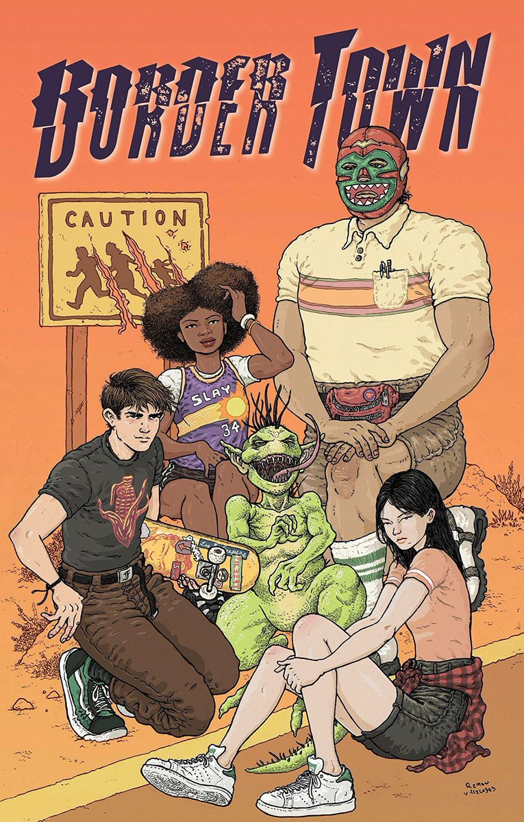 If you are in the LA area, plan to stop by @hidehocomics on September 5 for a Border Town #1 release party in Santa Monica! @DCComics @vertigo_comics @ericMesquivel  https://www. facebook.com/11373458830087 41/posts/1833466300063359/ &nbsp; … <br>http://pic.twitter.com/nf7BOKLJq5
