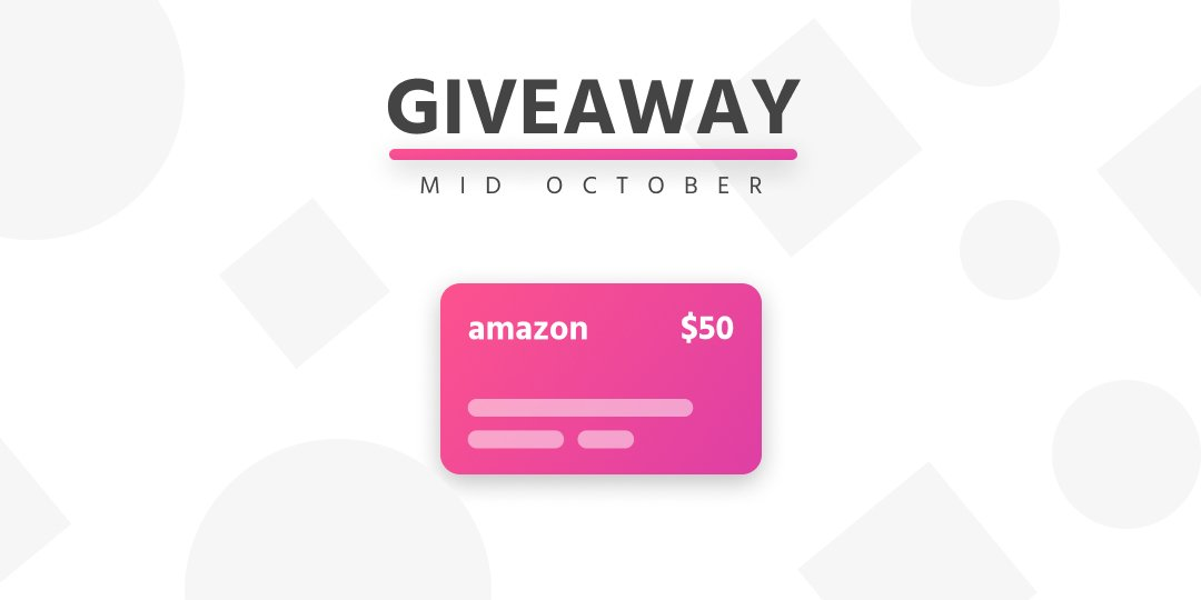 Mid October Prize: $50 amazon gift card giveaway! #competition #giveaway - Enter for your chance to win:  http:// sparkify.co/giveaway/octob er-mid-amazon-gift-card/ &nbsp; … <br>http://pic.twitter.com/bojK90T8Mn