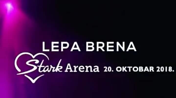 """#LEPA #BRENA🌟 – 20.oktobar #ŠTARK #ARENA #BEOGRAD🌹  U okviru #velike #svjetske #turneje """"Zar je važno dal se peva ili pjeva"""" @LepaBrena_TW obradovaće svoju vjernu publiku spektakularnim koncertom 20. oktobra 2018. godine u Štark Areni, Beograd #JednaJeBrena #HDSV❤"""