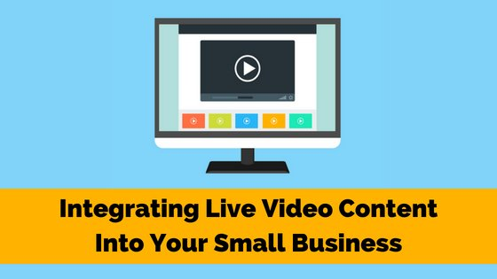 Have you added #livevideo to your #SMB yet? Check out how you can integrate it into your content plan on the B² Blog.  http:// bit.ly/2M5qoF3  &nbsp;    #SMM #SmallBiz #SmallBusiness #contentmarketing #videocontent #BSquaredMedia<br>http://pic.twitter.com/lo0ZSaCQ40