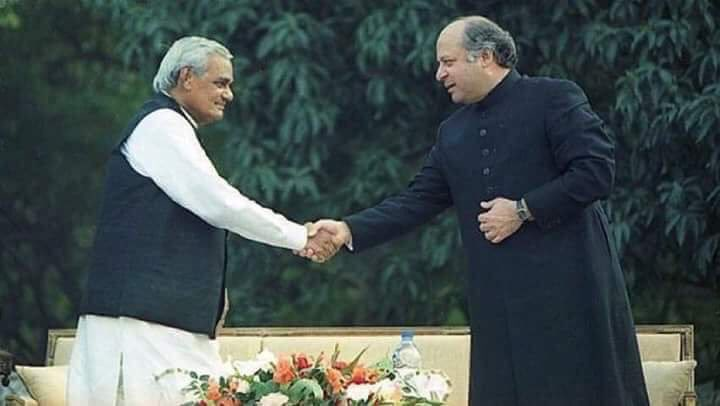 This would have been revolutionary ... for both nations ... but we are unfortunate , very very unfortunate . Today the world is hailing the same btw North &amp; South Korea.  Nevertheless you both tried. #RIPAtalBihariVaajpayee #StaySafeNawazSharif<br>http://pic.twitter.com/ojJJjxQhxt