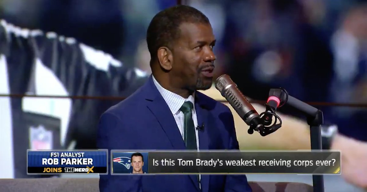 rob parker rips tom brady for throwing only one - HD 1600×898