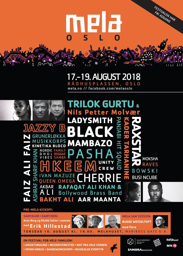 89ead48c10 ZEE London Mela is proud to announce this exciting partnership with Oslo  Mela that sees Panjabi Hit Squad perform in both London and in Oslo.
