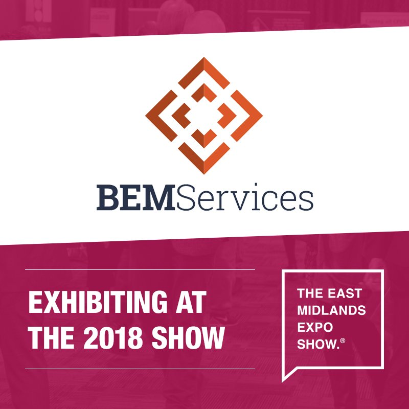 Say hello to @bem_services, mechanical &amp; electrical building services design support for the construction industry, at the East Midlands Expo on the 5th November!  Register your place today:  http:// bit.ly/2Ieklji  &nbsp;    #EastMidsHeadsUp <br>http://pic.twitter.com/3Z2bbv5dia