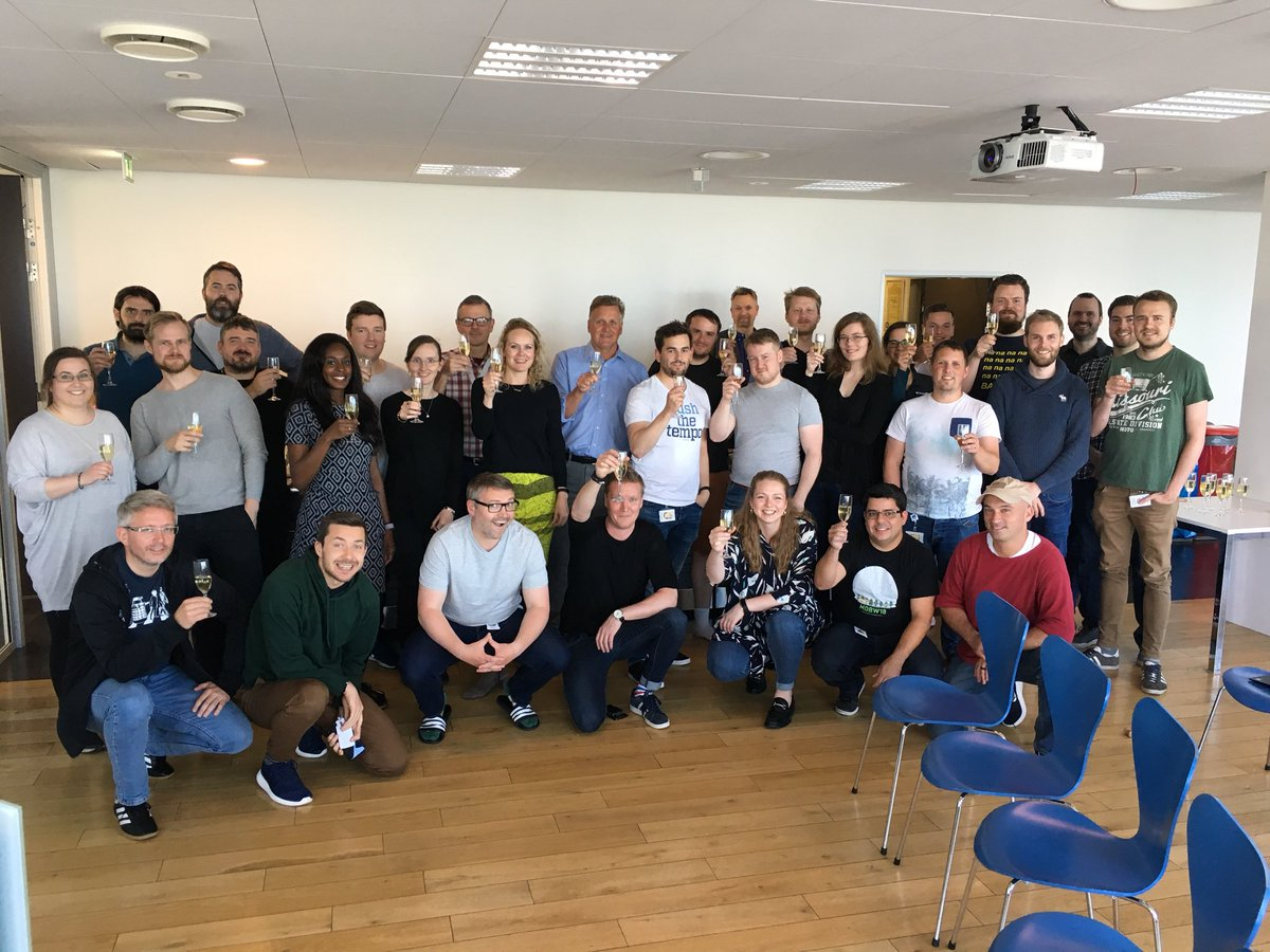 Hello world! It's been a whole year since our Greenqloud team was acquired by @NetApp, and what a year it has been! Cheers for a great relationship and the hoot it is to belong to NetApp 🎉
