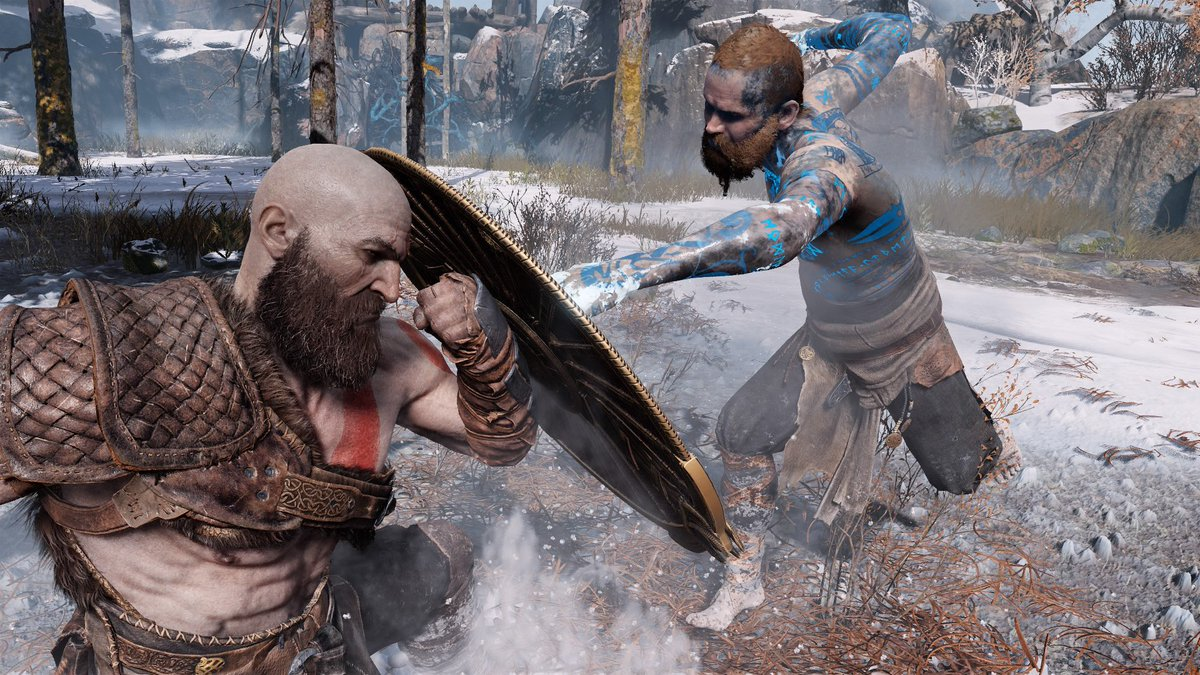 Take a peek behind the curtains w/ our Sr. Staff Combat Designer, Denny Yeh, on how our team created &amp; designed the battle against the Stranger  http:// bit.ly/GOWGodFight  &nbsp;    #GodofWar<br>http://pic.twitter.com/GxCwjxasAv