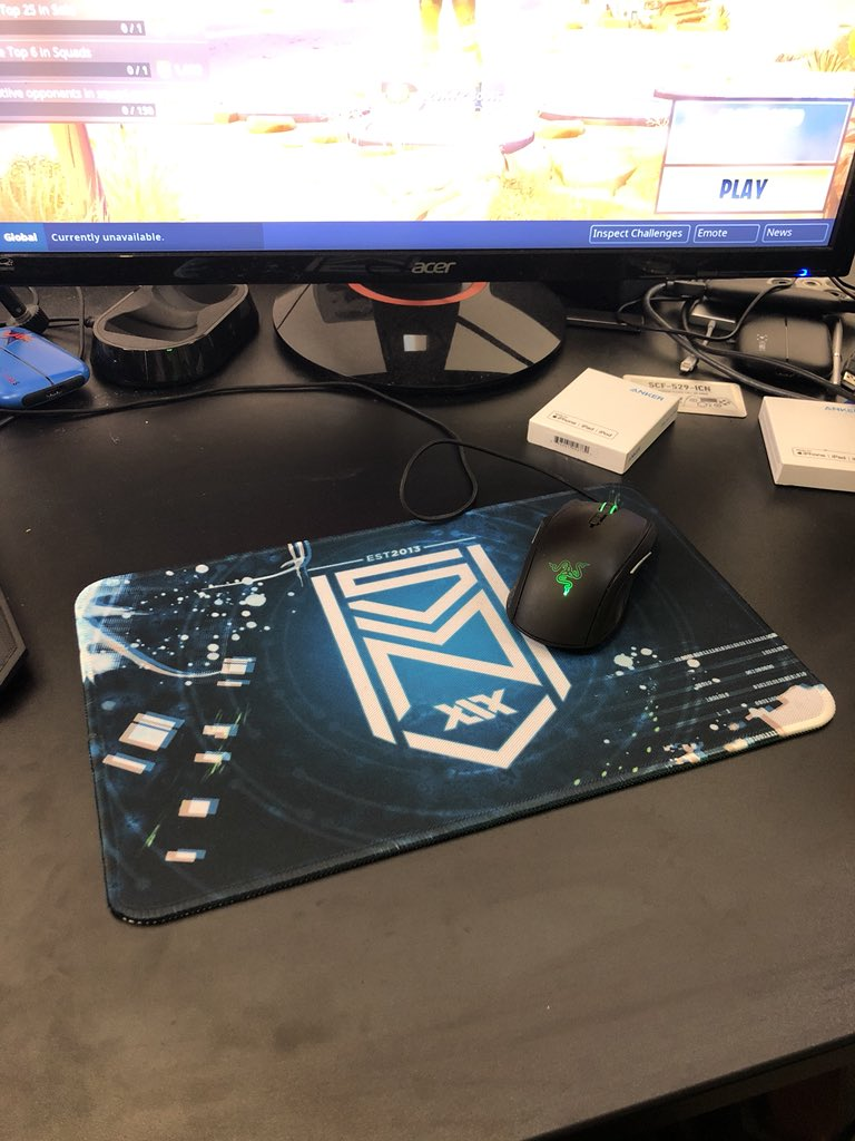 New mouse mat is lit tho @SidemenClothing