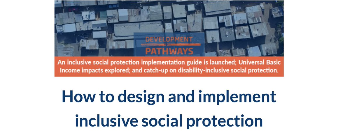 Another @DevPathways newsletter has been sent! Check it out here  https:// bit.ly/2vO7pJs  &nbsp;   and you can always sign up for more on the Development Pathways website. #socialprotection #globaldev #SDGs<br>http://pic.twitter.com/AJBPBmQU75