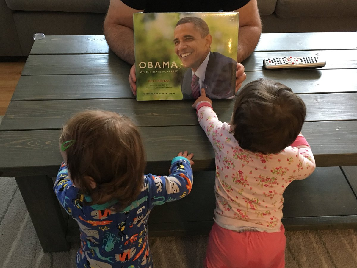 PeteSouza Our One Year Old Twins Enjoying Their Dads WheresHJ Birthday Present Thanks For The Important Work Tco JvzqA6YhDe