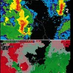 Image for the Tweet beginning: #OTD in 1994, thunderstorms from