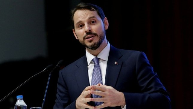 Investors show huge interest in Finance and Treasury Minister @BeratAlbayrak's conference call scheduled for today.  http:// bit.ly/2Mh1hDU  &nbsp;  <br>http://pic.twitter.com/IEX4SHyzhY