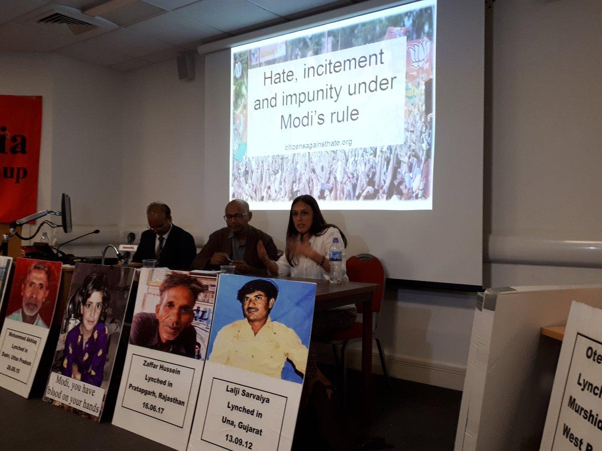 South Asia Solidarity Group &amp; SOAS India Soc&#39;s packed #IndianIndependenceDay Ldn meeting: Resisting #Fascism in India; countering UK #Hindutva. Spkrs:SAJJAD HASSAN, Citizens Against Hate Platform, India, &amp; SATPAL MUMAN, CasteWatchUK #moblynching #Manusmriti #Islamophobia #Modi<br>http://pic.twitter.com/qzF7snSgF6