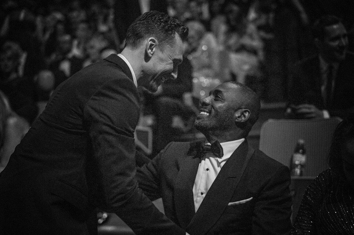 Tom Hiddleston &amp; Idris Elba blessing your timeline. <br>http://pic.twitter.com/zsM22PDfxi