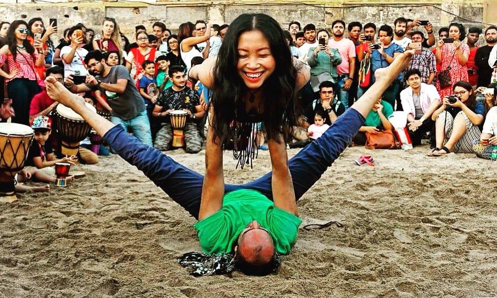 Acro Yoga Workshop with @pradeep_yogaart  Date: 18th-19th Aug @ 12 PM - 3 PM. Venue: Movement Sanctuary, Bandra West, Mumbai. For Registration Call: 8268300885. . . . . . . . . #yoga #yogaeverydamnday #yogalife #yogalove #acroyoga #mumbai #mumbaiyogaevents #mumbaiyoga #mumbaikar<br>http://pic.twitter.com/KAXT79swbc