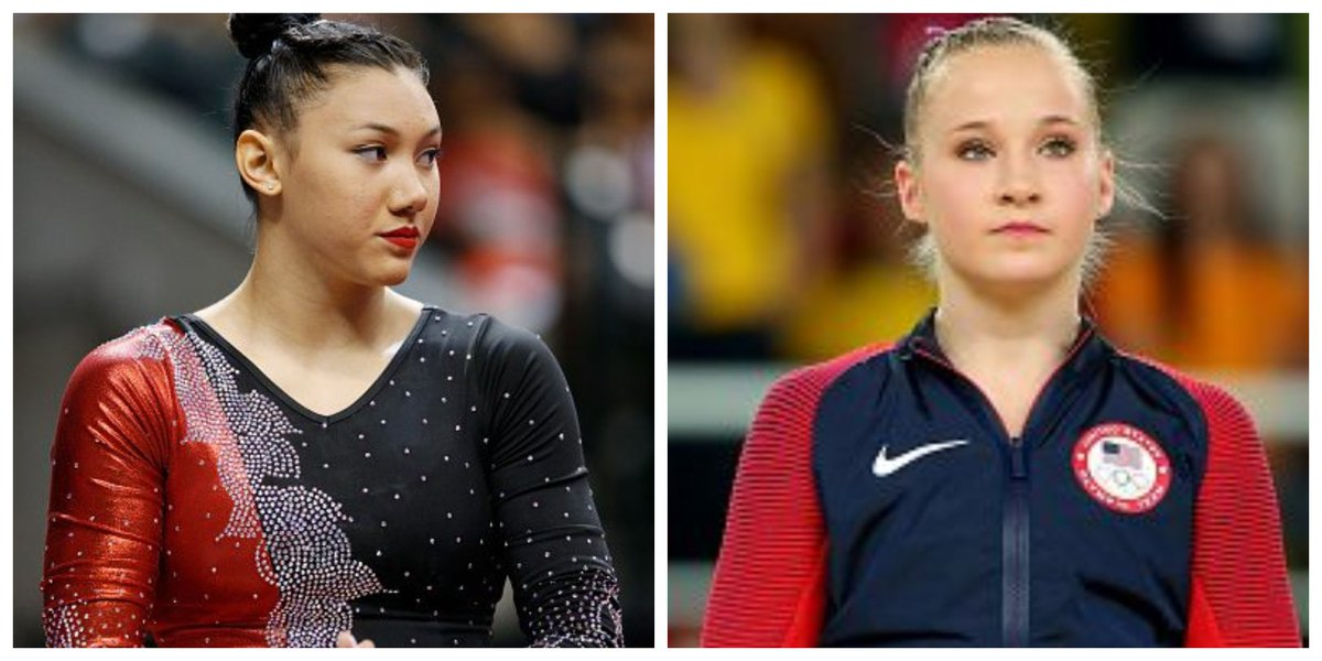Kyla Ross, Madison Kocian come forward as Larry Nassar survivors  https:// olympics.nbcsports.com/2018/08/16/kyl a-ross-madison-kocian-larry-nassar-survivors/ &nbsp; … <br>http://pic.twitter.com/Zh8Y3EI3OM