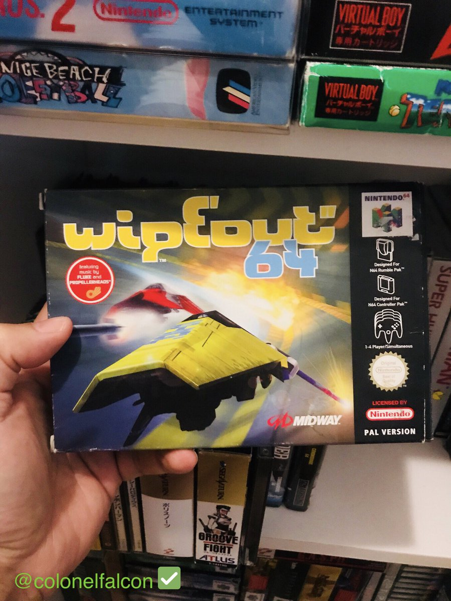 FЯӨM ƬΉΣ FΛᄂᄃӨП VΛЦᄂƬƧ  #NinThursday64 This is WipeOut 64. It's pretty good. It was released in 1998, developed by Psygnosis and published by Midway. #retrogaming #gamersunite #gaming #nintendo<br>http://pic.twitter.com/jjDTYSXglX