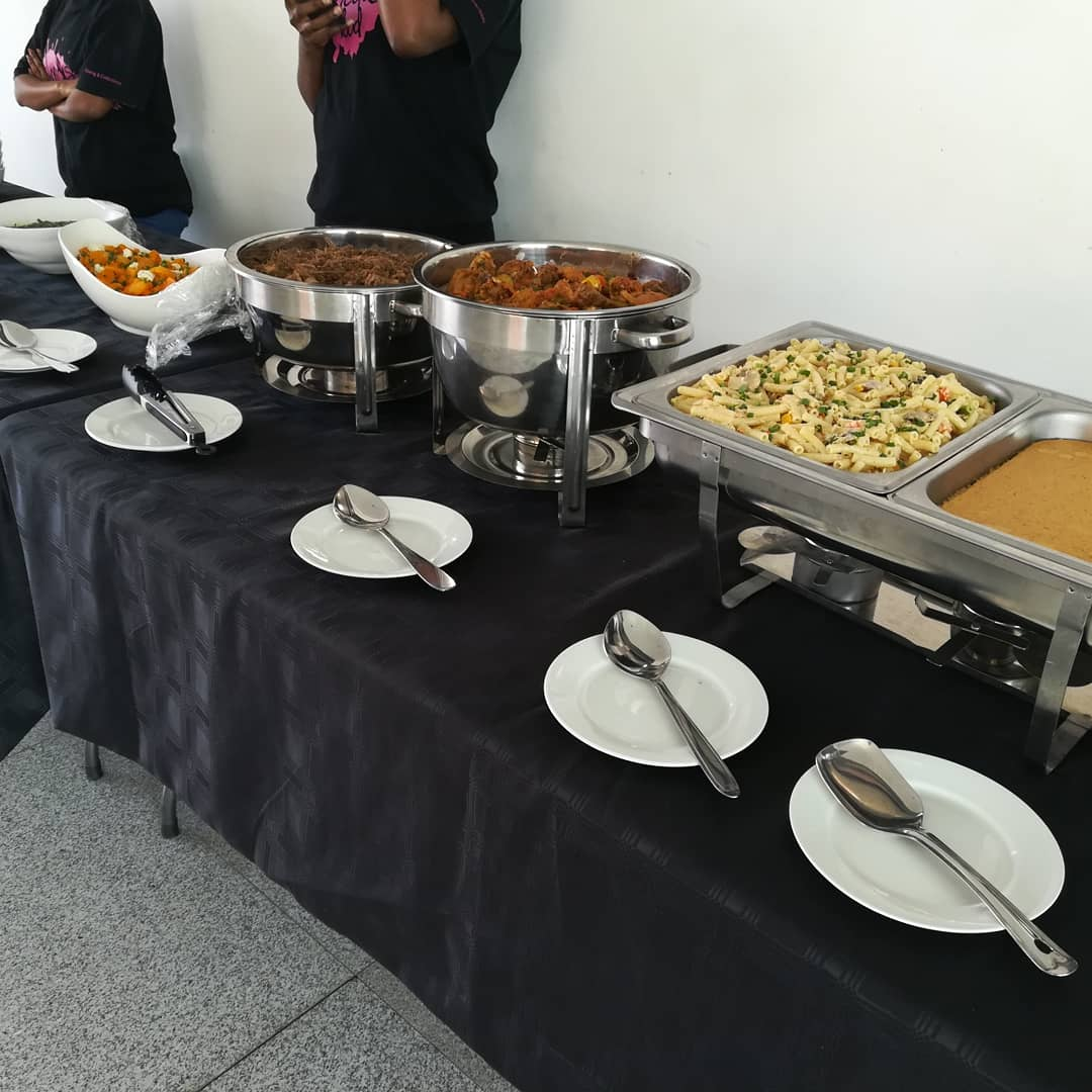 Lunch served Catering inquiries via email shedusfood@gmail.com<br>http://pic.twitter.com/dZu951WqFU