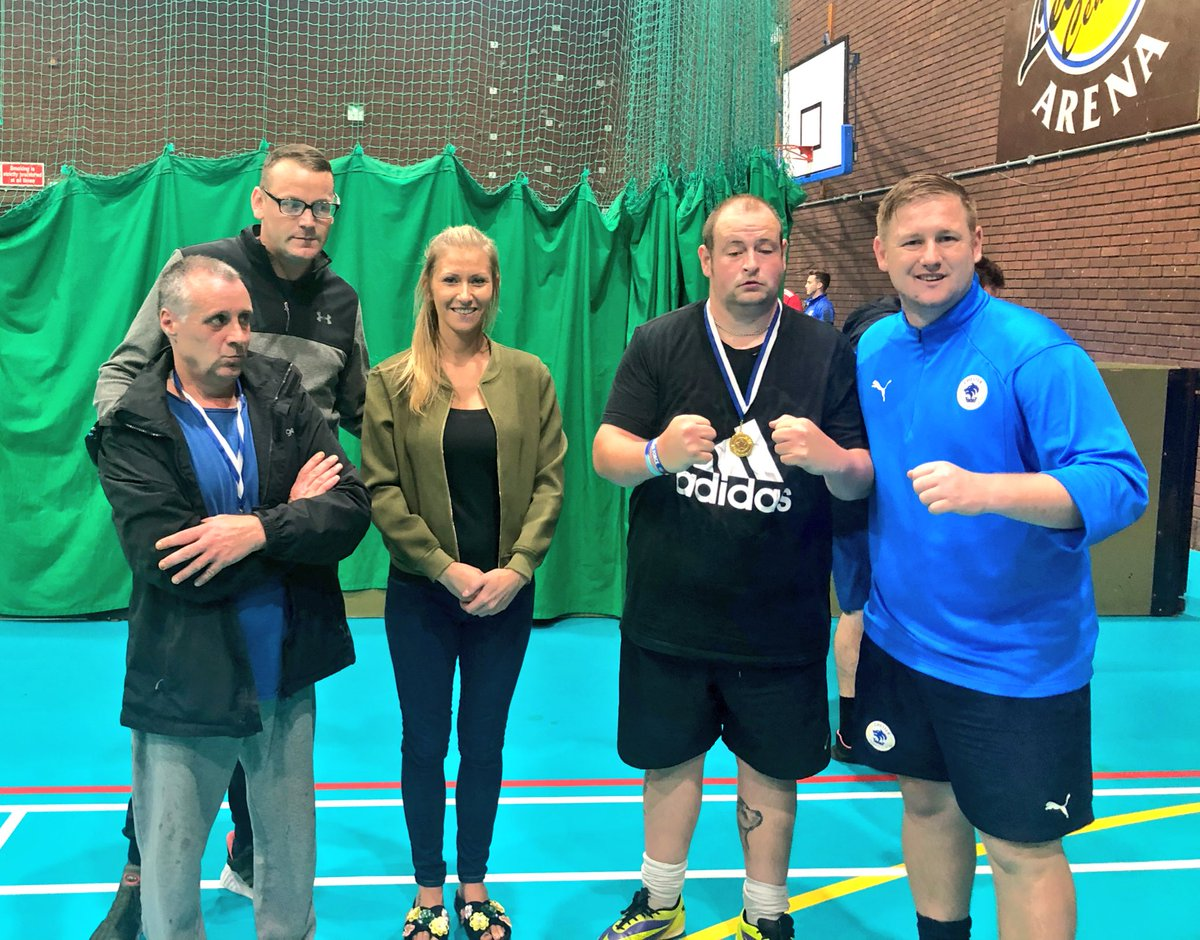 HEALTH &amp; WELLBEING | Brilliant afternoon at the @BrioLeisure Northgate Arena for our @CFC_CommTrust Health &amp; Wellbeing Football project where our @ChesterFC Inclusion team worked on lots of tactics ready for when the League starts in October.  Well done everyone.  #ChesterFC<br>http://pic.twitter.com/swGcTux0Xb