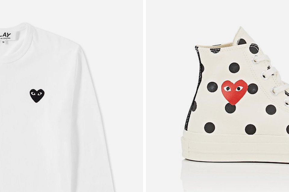 Here's where to cop all our favorite COMME des GARÇONS PLAY pieces for this fall season:  https://t.co/eAaRnoNZhc https://t.co/j114HHt3jB