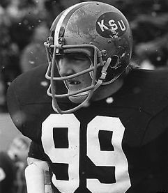 We are taking you back to the 1970's this #tbt in the Jack Lambert era Lambert was a two-time Associated Press All-American, and he led Kent State to its first MAC championship in 1972, winning MAC Defensive Player of the Year honors. #FlashFast<br>http://pic.twitter.com/rnfUcq1Dcy