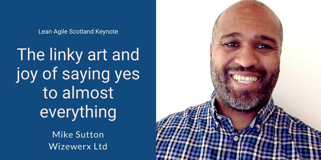 .@mhsutton opens day 3 of #lascot with this deeply personal keynote, and his last at an agile conference. Mike will share his battles with focus and what happened when he finally embraced his &#39;bored easily&#39; nature.  http:// bit.ly/2KB1SdH  &nbsp;  <br>http://pic.twitter.com/ZPfAjTwayK