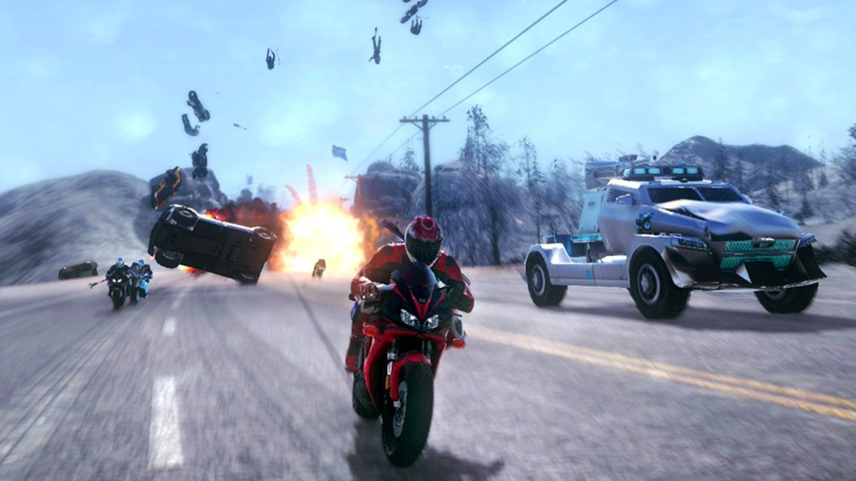 Road Redemption Coming This Fall to Xbox One, PlayStation 4, and Nintendo Switch  https://www. youtube.com/watch?v=gy0Qrl XR0yg &nbsp; … <br>http://pic.twitter.com/8Xvc9QqmFd
