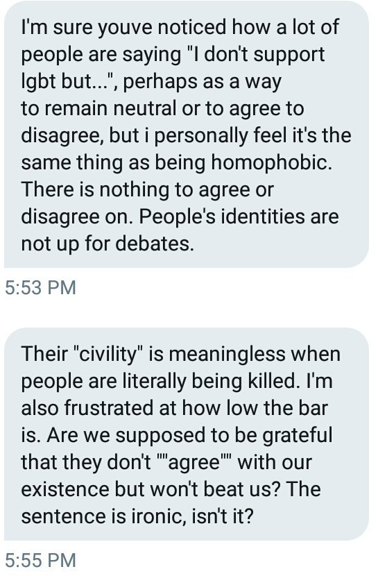 Oh boy. Get ready for a thread answer fellas. Time for me to crack my knuckles and smash my keyboard because this, I completely agree with, and is also a linguistic phenomenon and tactic that has been used for a long time by those in power to keep the marginalised silent.<br>http://pic.twitter.com/4JcfQNiZyh