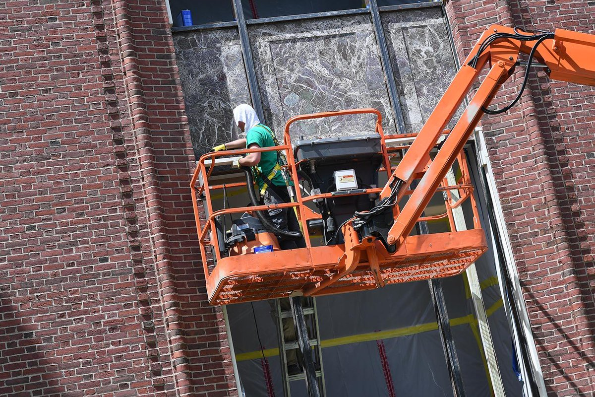 test Twitter Media - On May 29, Wesleyan's Physical Plant–Facilities personnel began their 2019 fiscal year major maintenance and capital projects. The University is investing in projects at 120 locations on campus. See an interactive map detailing the projects here: https://t.co/UlRzL7gPSe https://t.co/PUlSWsA7cp