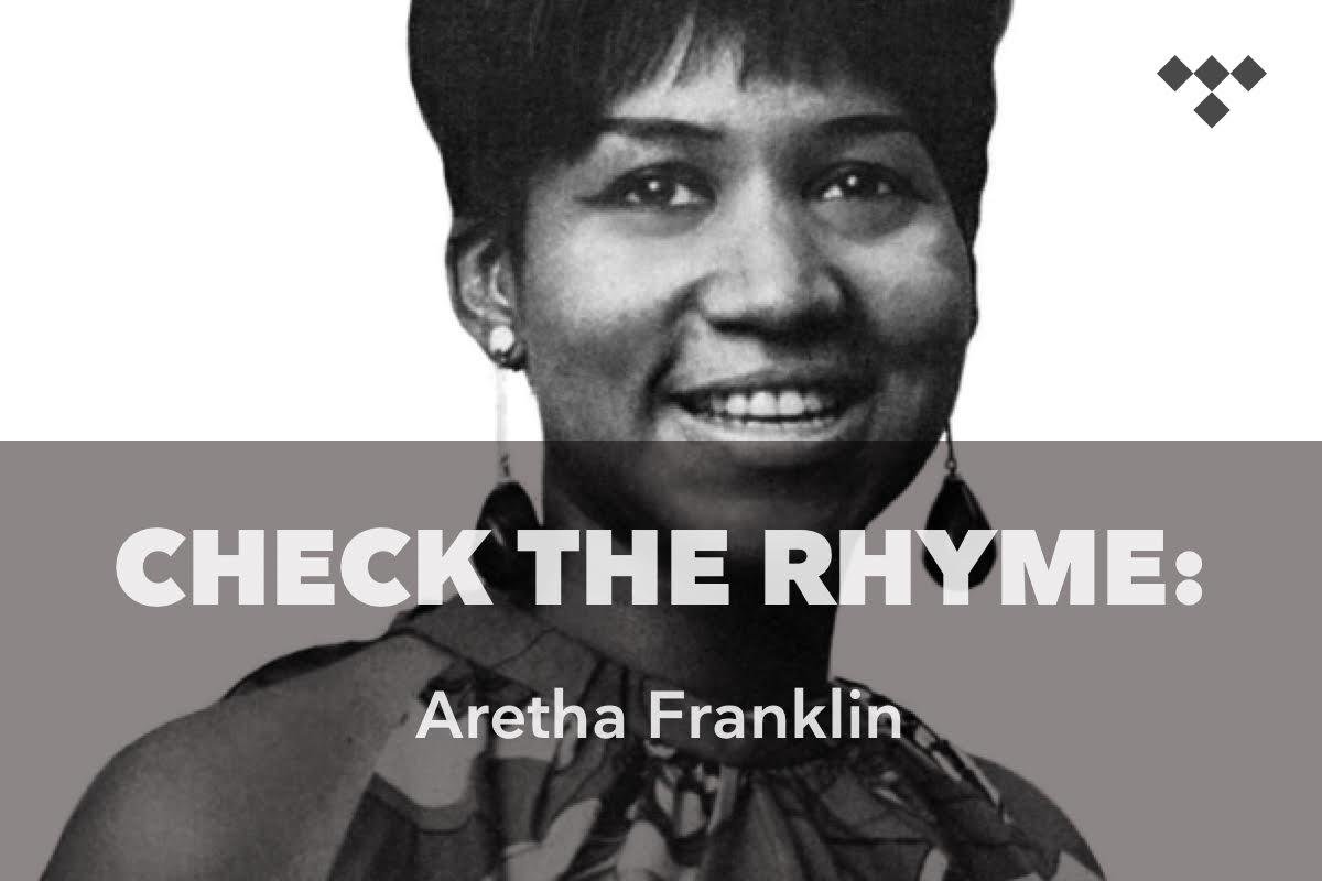 Check The Rhyme: Aretha Franklin tdl.sh/1dc29x #TIDAL
