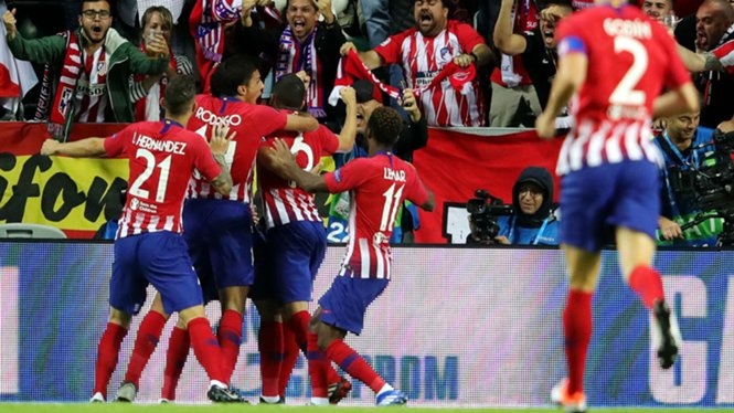 #DiegoCosta nets fastest #UEFA Super Cup goal ever - #RealMadrid conceded the first competitive goal of the Julen #Lopetegui era after 49 seconds - Diego Costa breaking a #UEFASuperCup record.  #atleticomadrid #soccer #football #footballnews #futbol #soccernews #LFE<br>http://pic.twitter.com/ht5KnXgAIS