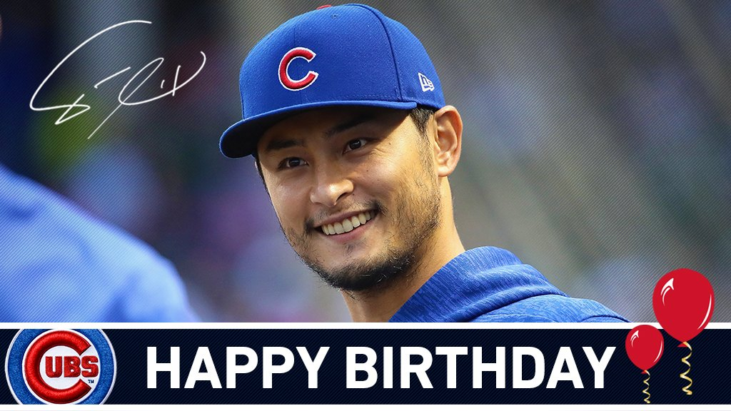 Happy birthday, @faridyu! #EverybodyIn https://t.co/O6mZxISK9u