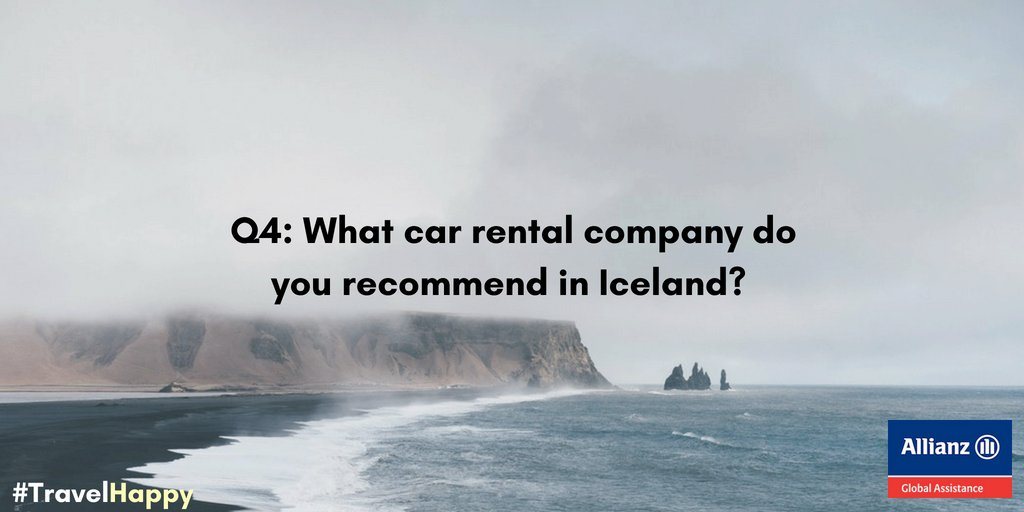 What car rental company do you recommend in #Iceland? #TravelHappy<br>http://pic.twitter.com/8gOlv3Q5hL