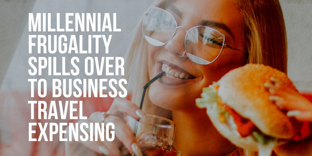 A new report on dining and expensing by the GBTA found that millennial employees are more likely to order takeout and more hesitant to run up room-service bills than their older colleagues.    http:// ow.ly/w9Rh30lqH3B  &nbsp;    #businesstravel #millennialfrugality #expenses @GlobalBTA<br>http://pic.twitter.com/zGWCJuahY9