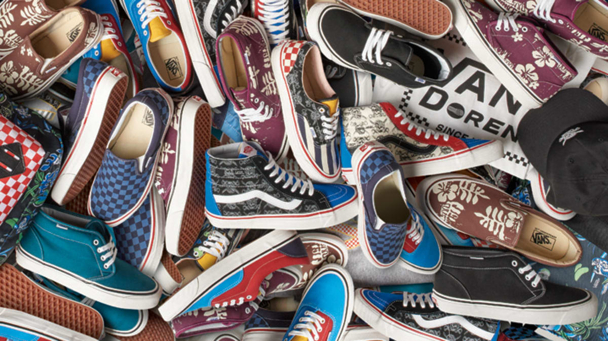 Vans donated over 2,500 sneakers to California fire victims: https://t.co/6k9Kyk4QJb