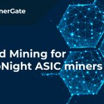 Image for the Tweet beginning: Dear miners, we've launched a