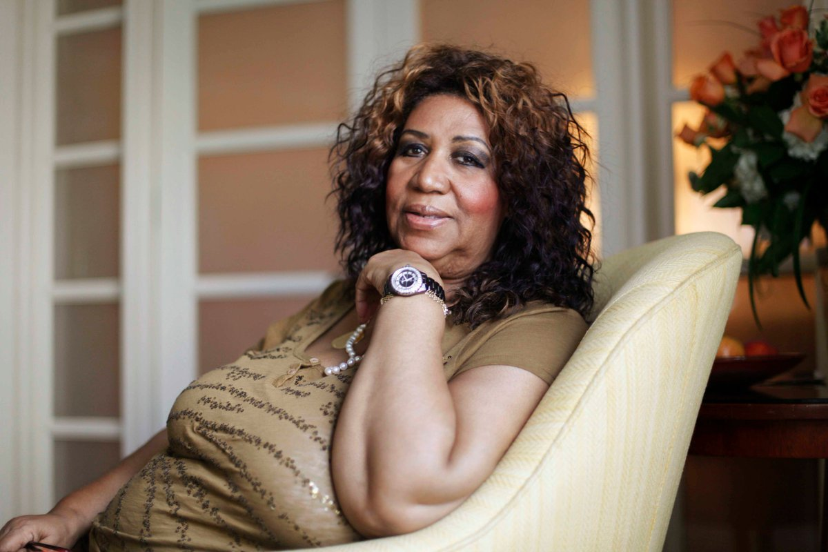 BREAKING: The #QueenOfSoul #ArethaFranklin, a symbol of black pride, has died at her home in Detroit. She was 76.