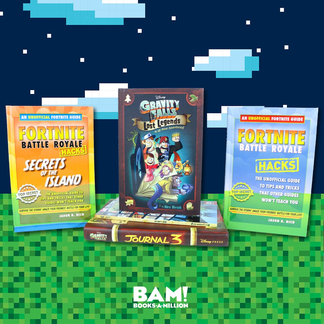 Secrets! Hacks! Legends! The best adventures for kids are ready to be discovered at #BooksAMillion. bit.ly/2AVAXd0