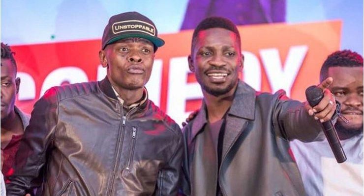 @JChameleone apiga goti kwa Rais Museveni kuhusu Bobi Wine :-eatv.tv/news/entertain…