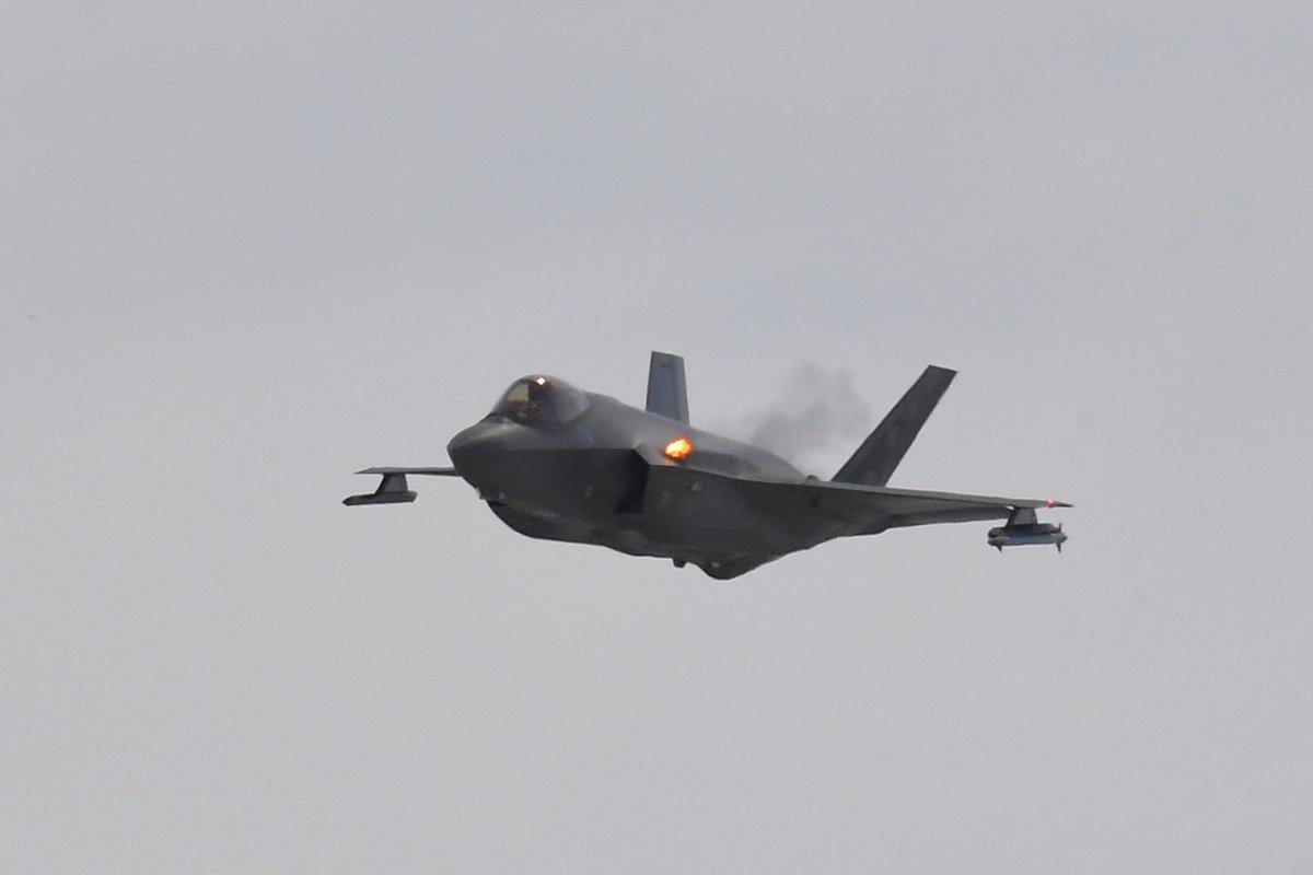 مقاتلة F-35 بمدفع رشاش يطلق 55 طلقة بالثانية Dkuki56W4AItPiy