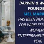 A well-deserved nomination for Darwin & Wallace founder and managing director Mel Marriot! 🍾https://t.co/dAtzlgJvt3