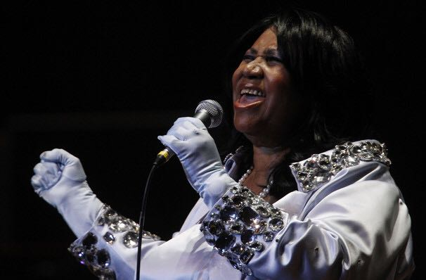 Rest In Peace to the Queen of Soul, Aretha Franklin.   Here's the queen at the Winspear Opera House in Dallas.<br>http://pic.twitter.com/6BBdIaFtL3