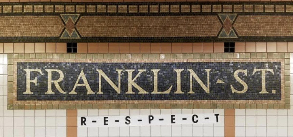Aretha Franklin subway tribute https://t.co/BBxCmzBjzB