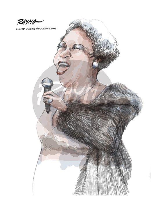 Homenaje a la Reina del Soul,  Aretha Franklin. RIP https://t.co/Jluef27sCJ