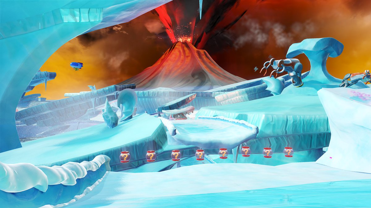 New Team Sonic Racing screens! See all 25 of them at  http:// segabits.com/blog/2018/08/1 6/team-sonic-racing-adds-team-vector-to-the-roster-featuring-vector-blaze-and-silver/ &nbsp; … <br>http://pic.twitter.com/oF91aDdZq4